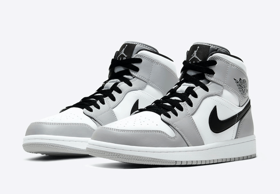 air jordan 1 mid grey