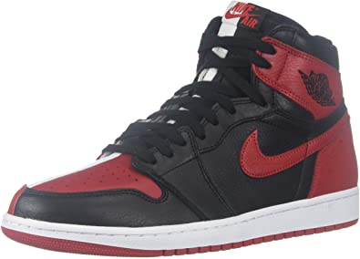 black and red air jordans
