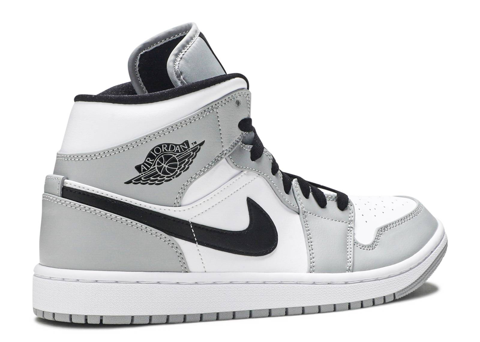 nike air jordan 1 mid smoke grey