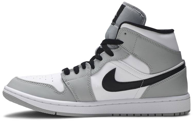 nike air jordans 1 mid smoke grey